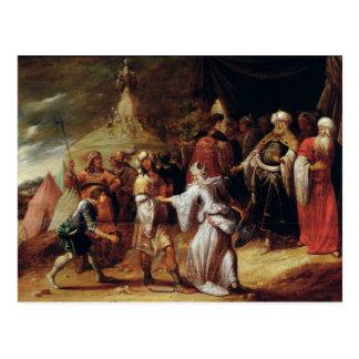 Carte Postale Samuel tuant Agag, roi de l'Amalekites