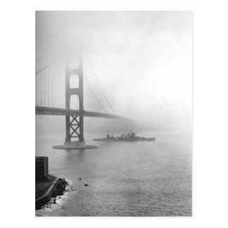 Carte Postale San Francisco vintage, Etats-Unis -