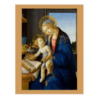 Carte Postale Sandro Botticelli - la Vierge et l'enfant