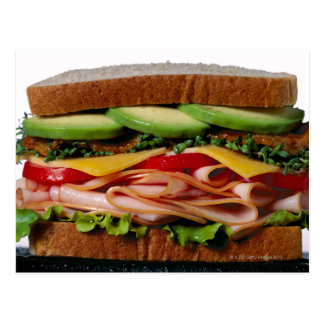 Carte Postale Sandwich empilé