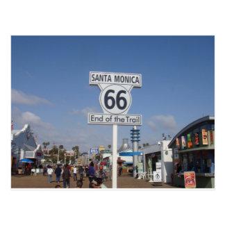 Carte Postale Santa Monica, la Californie - droite 66