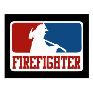 Carte Postale Sapeur-pompier de ligue