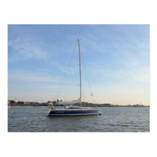 Carte Postale Saphir de yacht