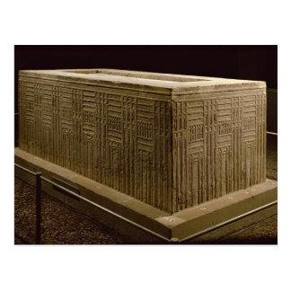 Carte Postale Sarcophage de gardon d'Abu (chaux) (voyez