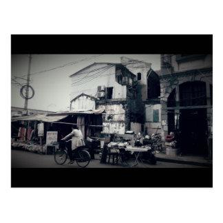 Carte Postale Scène chinoise de rue