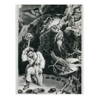 Carte Postale Scène de l'opéra 'Der Freischutz