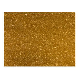 Carte Postale Scintillement d'or