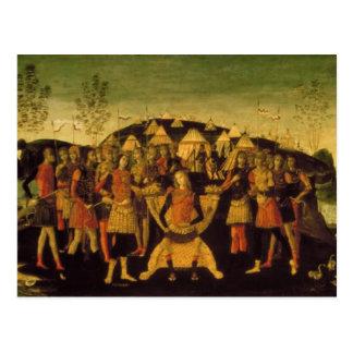 Carte Postale Scipion l'Africain, général romain