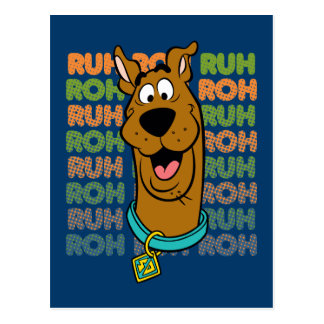 Carte Postale Scooby-Doo Ruh Roh