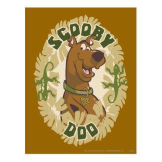 """Carte Postale Scooby Doo """"Scooby Doo """""""