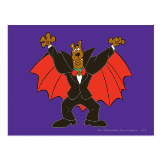 Carte Postale Scooby Dracula