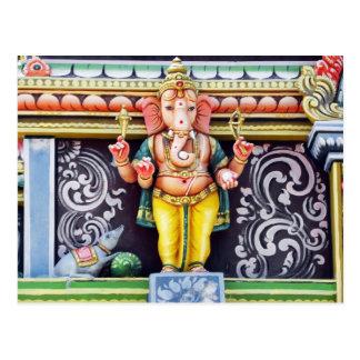 Carte Postale Sculpture en idole de Ganesh