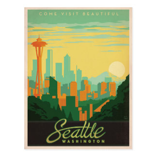 Carte Postale Seattle, WA