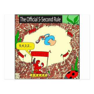 Carte Postale seconde bande dessinée de la règle 507 5