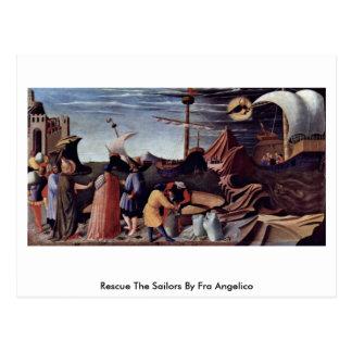Carte Postale Secourez les marins par ATF Angelico