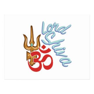 Carte Postale Seigneur Shiva