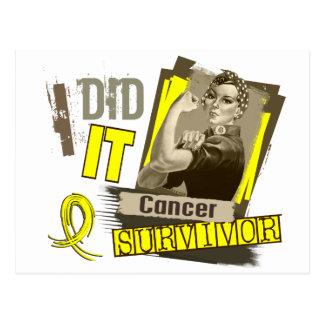 Carte Postale Sépia de Rosie je l'ai faite la vessie Cancer.png