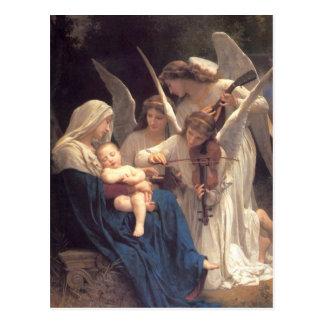 Carte Postale Sérénade des anges
