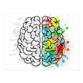 Carte Postale série de cerveau