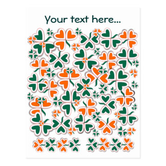 Carte Postale Shamrock et plus