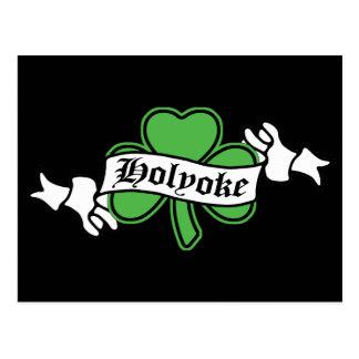 Carte Postale shamrock-holyoke