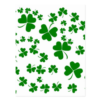 Carte Postale Shamrocks