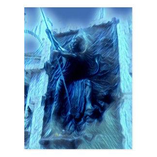 Carte Postale Shiva électrique