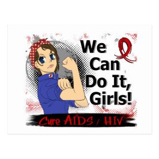 Carte Postale SIDA de l'Anime WCDI de Rosie