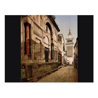 Carte Postale Sidi-Ben-Ziad, classique Photochrom de Tunis,