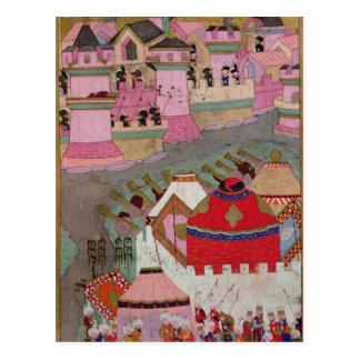Carte Postale Siège de Vienne par Suleyman I le magnifique