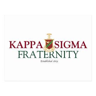 Carte Postale Sigma de Kappa