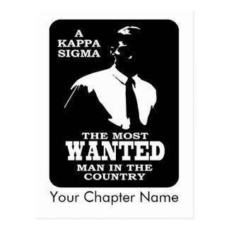 Carte Postale Sigma de Kappa - le plus voulu