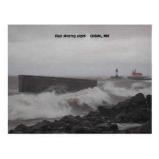 Carte Postale signalez card2 003, une nuit orageuse    Duluth,