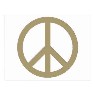 Carte Postale Signe de paix