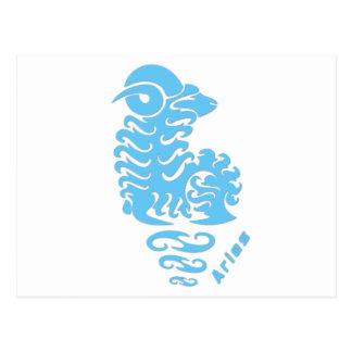 Carte Postale Signe de zodiaque de Bélier