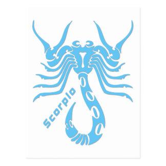 Carte Postale Signe de zodiaque de Scorpion