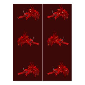 Carte Postale Signets rouges de Dragonhead