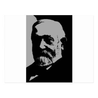 Carte Postale Silhouette de Benjamin Harrison