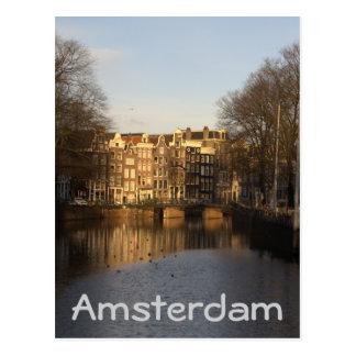 Carte Postale Singel, Amsterdam