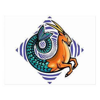 Carte Postale sirène de Capricorne