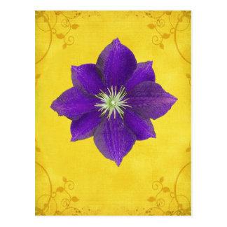 Carte Postale Sixième cadeau de Chakra - troisième oeil