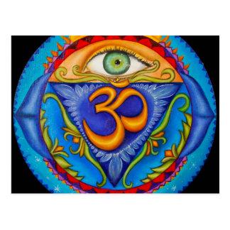 Carte Postale Sixième chakra, troisième oeil