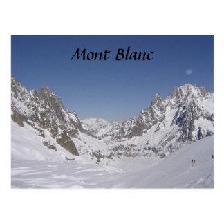 Carte Postale Ski sur un glacier