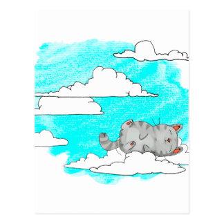 Carte Postale Sky Cat