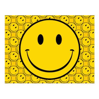 Carte Postale Smiley de vieille école