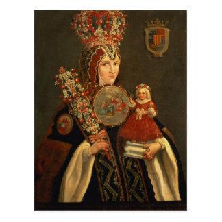 Carte Postale Soeur Juana, fille grande de D. De Cortes