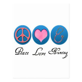 Carte Postale Soins d'amour de paix