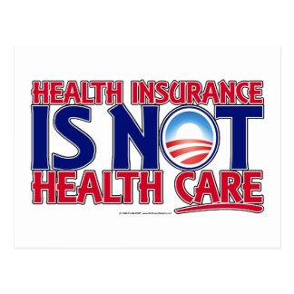 Carte Postale Soins de santé d'assurance maladie