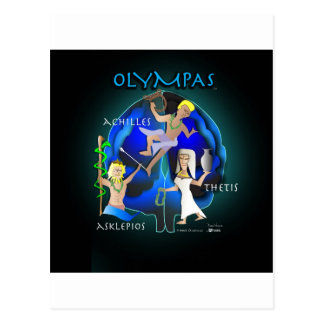 Carte Postale Soins de santé d'Olympas