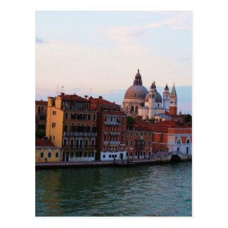 Carte Postale Soirée à Venise, Italie